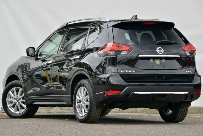 2017 Nissan X-Trail ST-L T32 Series II DIAMOND BLACK