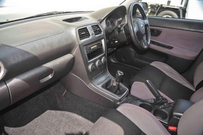2006 Subaru Impreza WRX S MY06 Grey