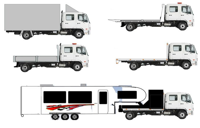 2017 FUSO FIGHTER 1024 CREWCAB *3 YEARS FREE SERVICES* SUPER 7 SEATER null null null