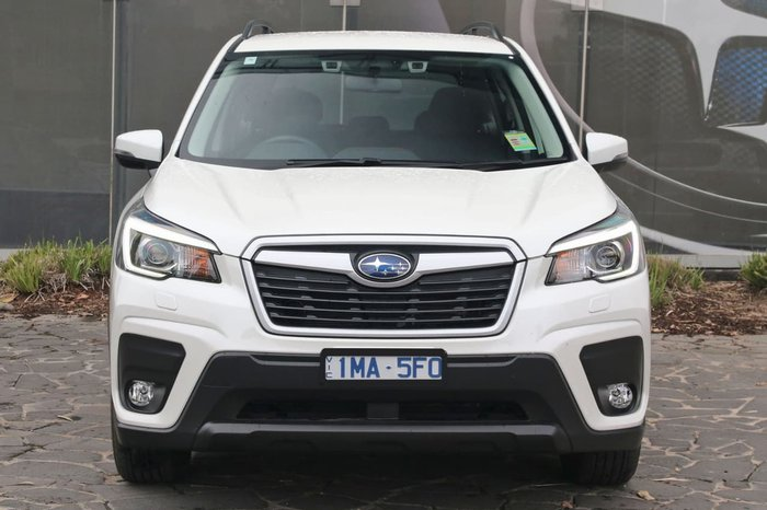 2018 Subaru Forester 2.5i S5 MY19 White