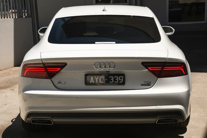 2017 Audi A7 Bi-Turbo 4G MY18 White