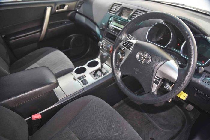 2011 Toyota Kluger KX-R GSU45R MY11 Silver