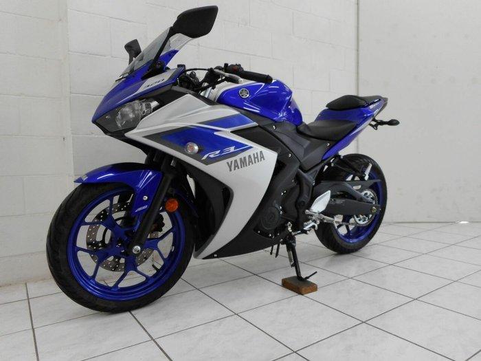 2015 Yamaha YZF-R3 ABS Blue