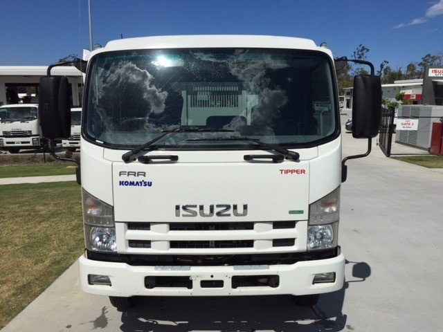 2013 Isuzu FRR500 Factory Tipper White