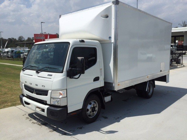 2016 Mitsubishi Canter 815 Wide White