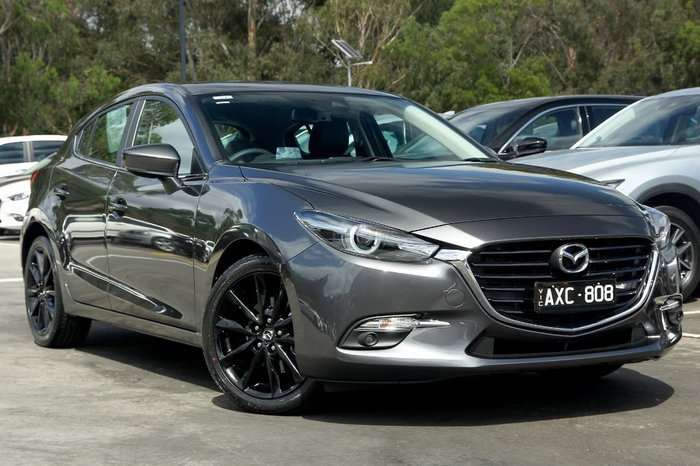 2018 Mazda 3 SP25 GT BN Series Grey