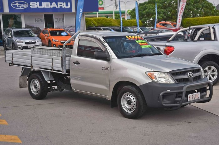 2006 Toyota Hilux Workmate TGN16R MY05 Silver