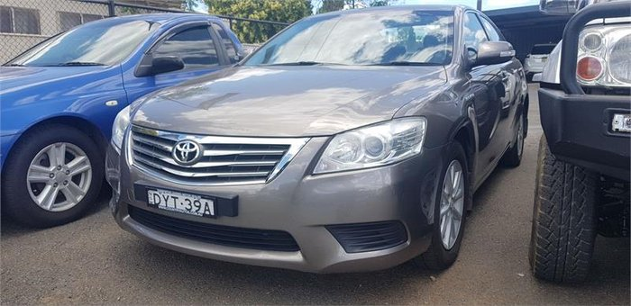 2010 Toyota Aurion AT-X GSV40R MY10 Brown