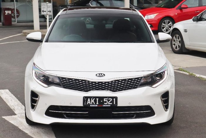 2016 Kia Optima GT JF MY16 White