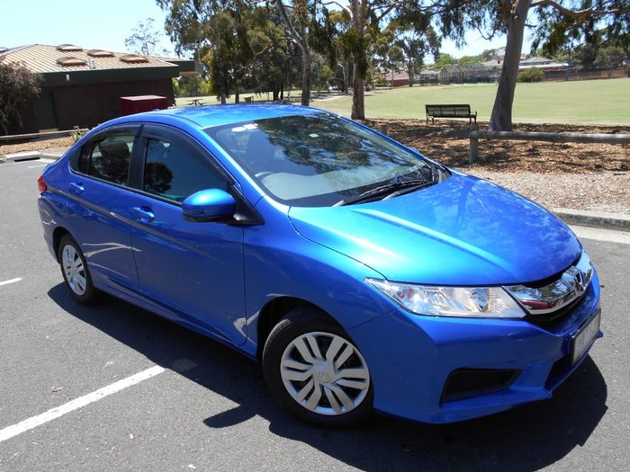 2016 Honda City VTi GM MY16 Blue