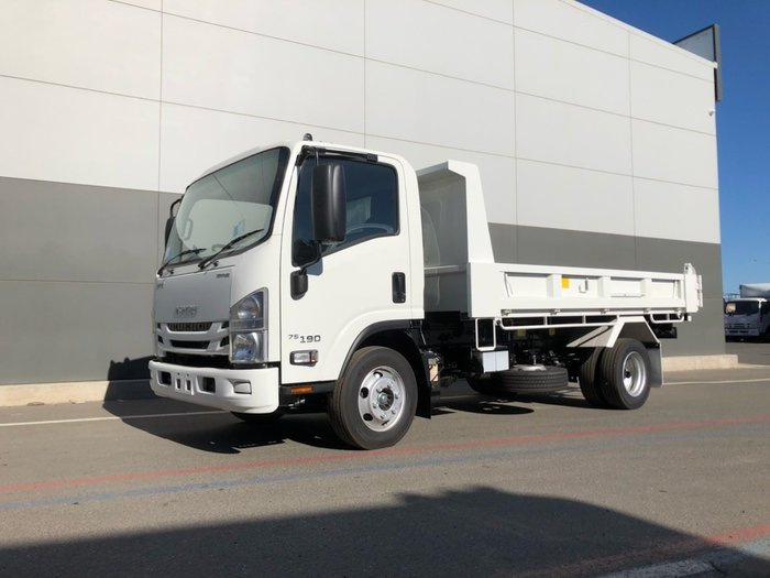 2018 Isuzu NPR 75-190 TIPPER WHITE