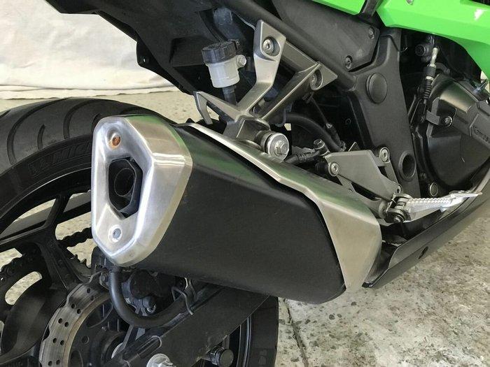 2014 Kawasaki NINJA 300 ABS Green