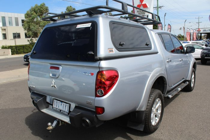 2010 Mitsubishi Triton GLX-R MN MY11 4X4 Dual Range Silver