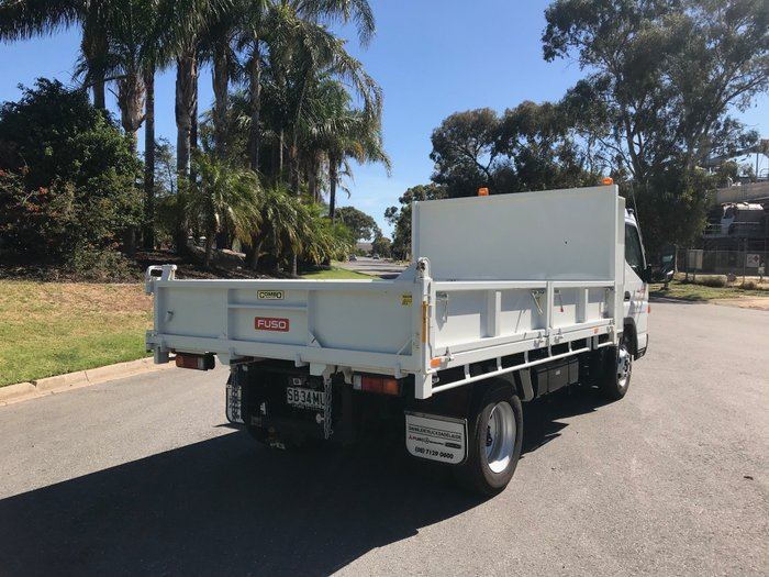 2016 Fuso Canter 815 Wide MWB Dropside Tipper White