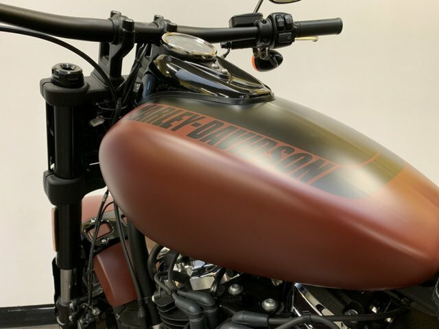 2018 HARLEY-DAVIDSON FXFB FAT BOB Red