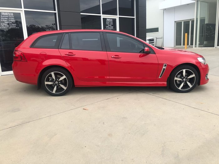 2017 Holden Commodore SV6 VF II MY17 Red