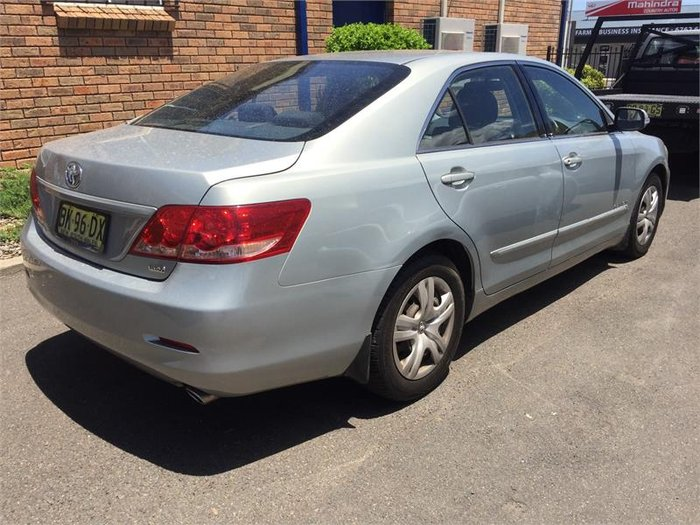 2008 Toyota Aurion AT-X GSV40R Silver