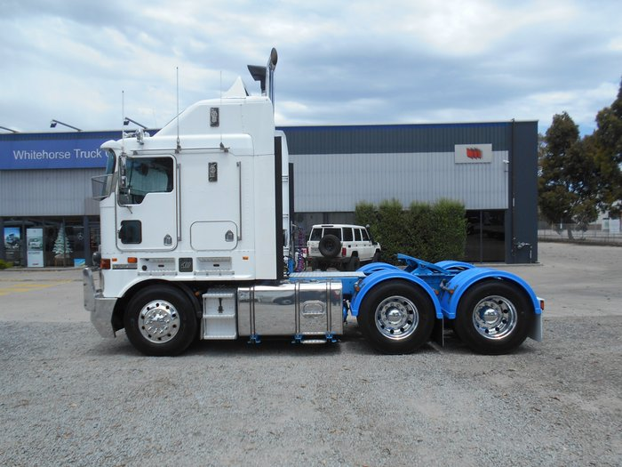 2010 Kenworth K108 NIL KS ON IN CHASSIS REBUILD WHITE