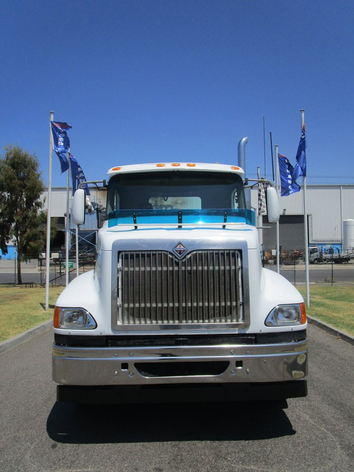2008 International 9200 Eagle WHITE