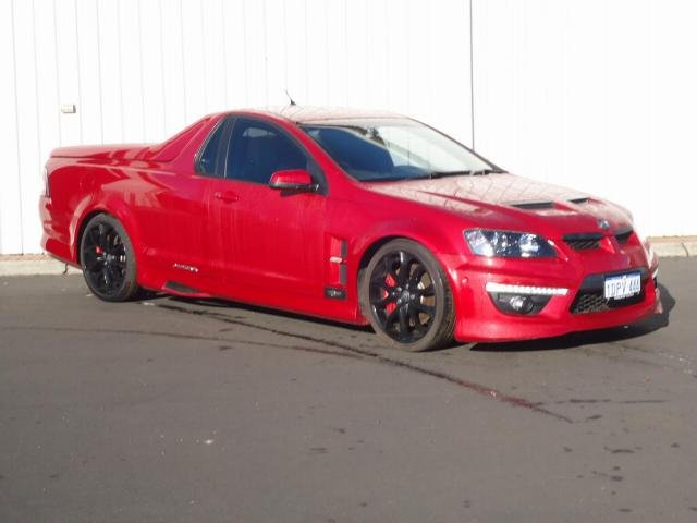 2011 HOLDEN SPECIAL VEHICLE MALOO
