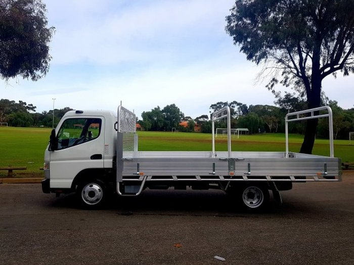 2018 FUSO CANTER 515 MAN ALLY TRAY & RACKS CAR LICENCE READY TO GO null null White