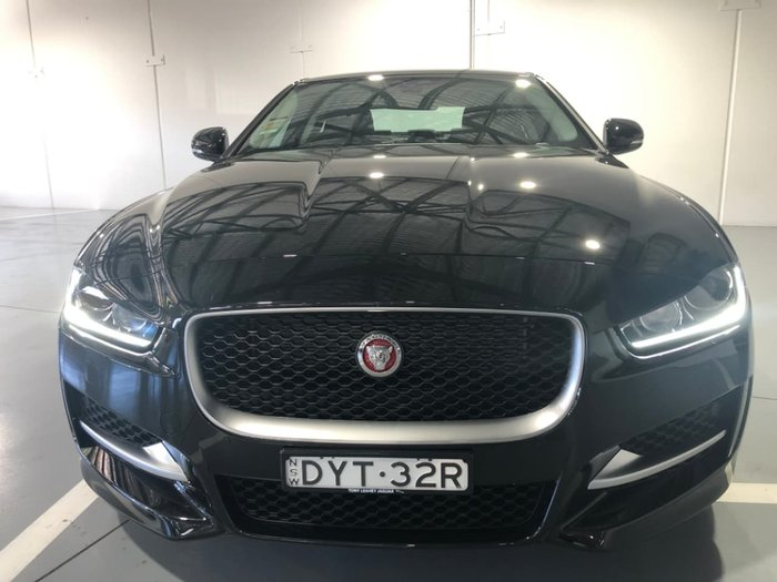 2017 Jaguar XE 20t R-Sport X760 MY17 Black