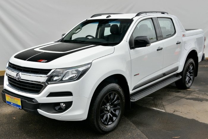 2017 Holden Colorado Z71 RG MY18 4X4 Dual Range SUMMIT WHITE