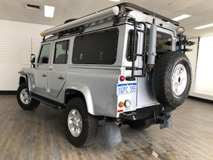 2010 Land Rover Defender 110 MY10 4X4 Constant Grey