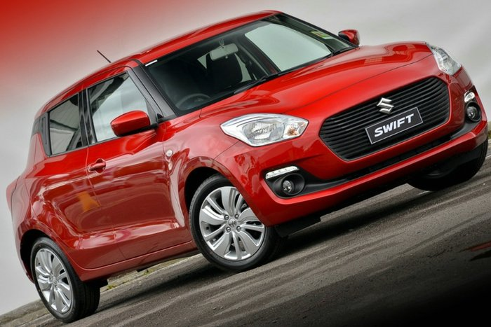 2018 Suzuki Swift GL Navigator Safety Pack AZ BURN RED