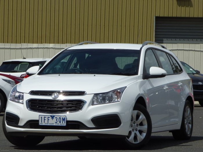 2015 Holden Cruze CD JH Series II MY15 White