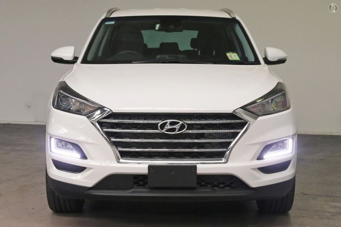 2018 Hyundai Tucson Special Edition TLe3 MY19 4X4 On Demand White