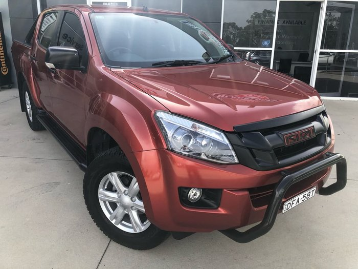 2015 Isuzu Dm4 LS-U MY15 Venetian Red