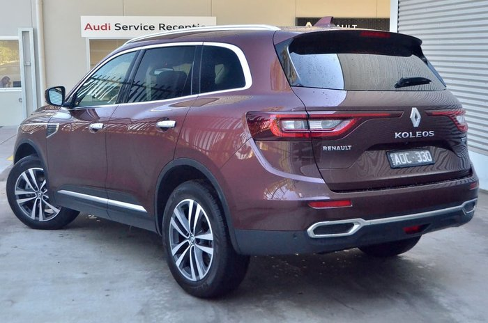 2017 Renault Koleos Intens HZG Red