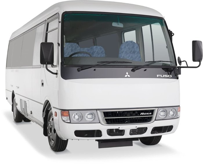 2018 FUSO ROSA DELUXE AUTO MINI COACH AUST#1 FOR 12 YEARS^ null null White
