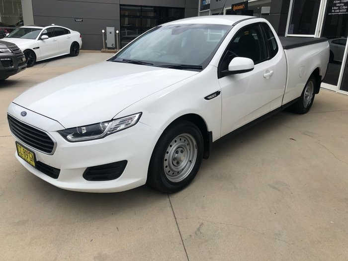 2015 Ford Falcon X FG X White