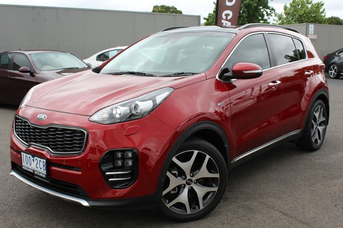 2017 Kia Sportage GT-Line QL MY17 4X4 On Demand Red