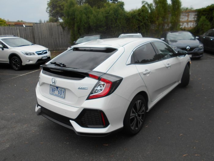 2018 Honda Civic VTi-L 10th Gen MY18 White