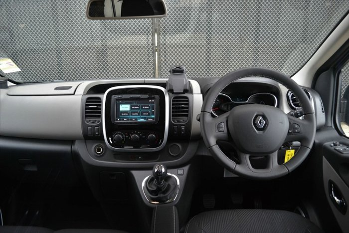 2016 RENAULT TRAFIC LOW ROOF X82 OYSTER GREY SWB 103 KW