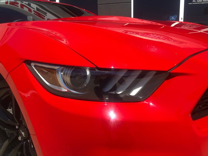 2016 Ford Mustang FM 2017MY Race Red