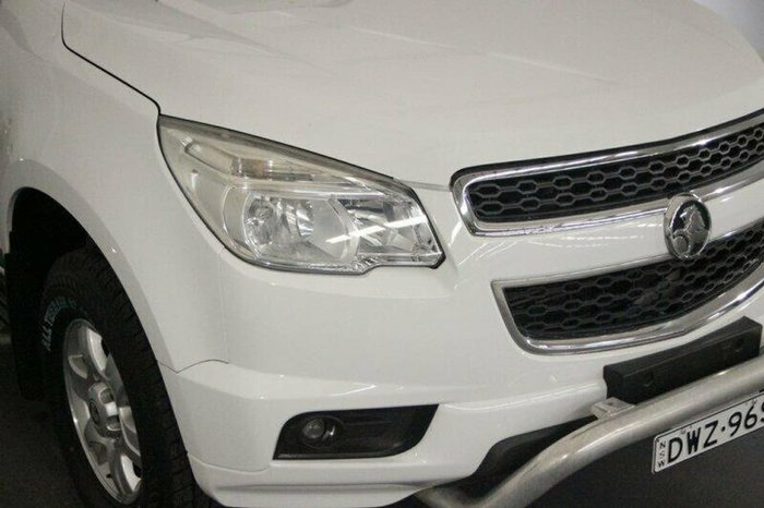 2012 Holden Colorado 7 LT RG MY13 4X4 Dual Range White