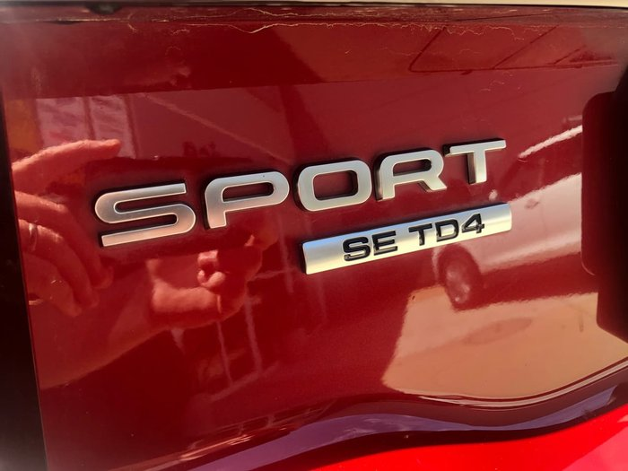 2016 Land Rover Discovery Sport TD4 L550 16.5MY Firenze Red