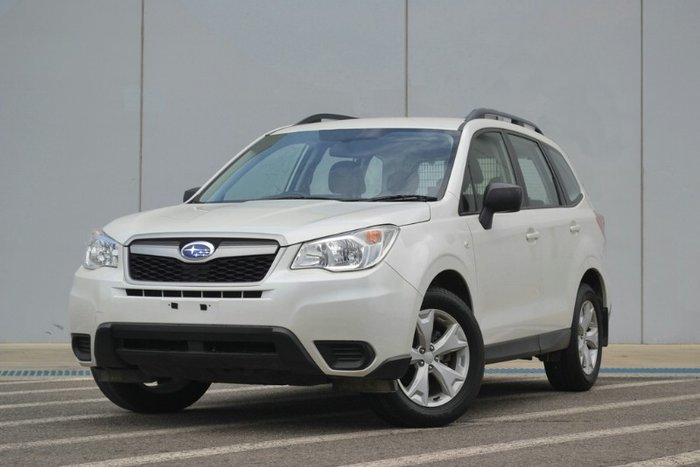 2014 Subaru Forester 2.0D S4 MY14 SATIN WHITE