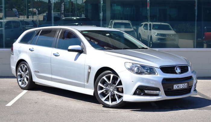 2013 Holden Commodore SS V VF MY14 Silver