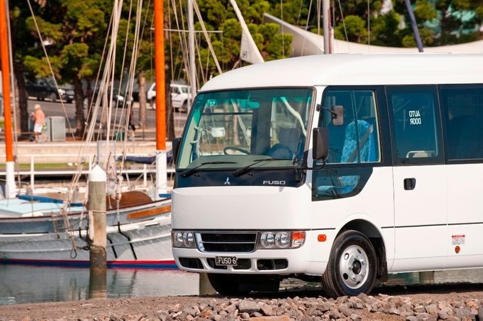 2018 FUSO ROSA DELUXE AUTO 25 SEAT MINI COACH AUST#1 FOR 12 YEARS null null null