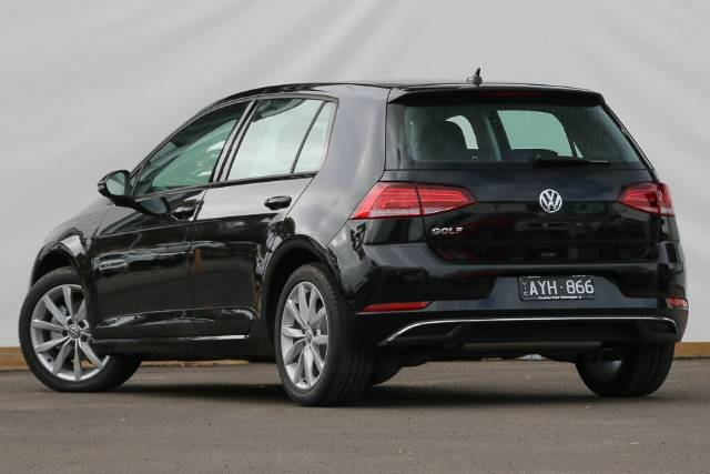 2018 Volkswagen Golf 110TSI Comfortline 7.5 MY19 DEEP BLACK