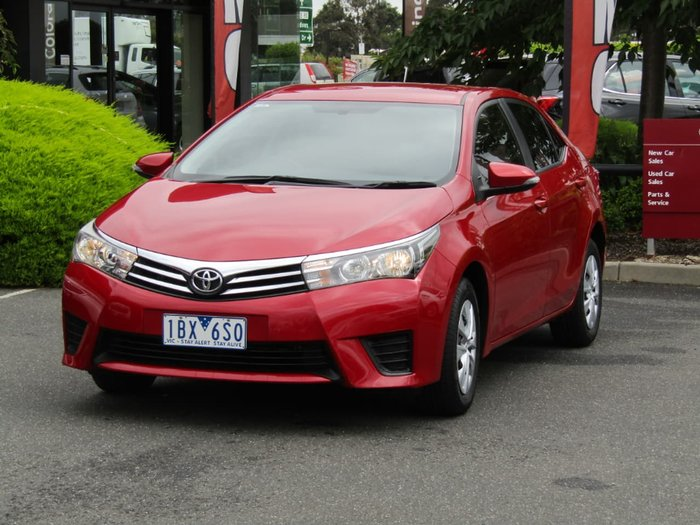 2014 Toyota Corolla Ascent ZRE172R Red