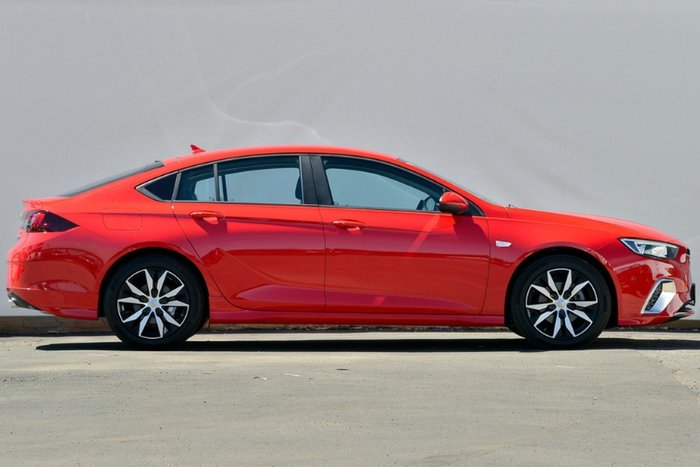 2017 Holden Commodore RS ZB MY18 ABSOLUTE RED