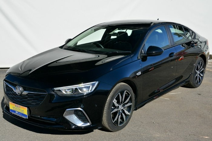 2017 Holden Commodore RS ZB MY18 MINERAL BLACK