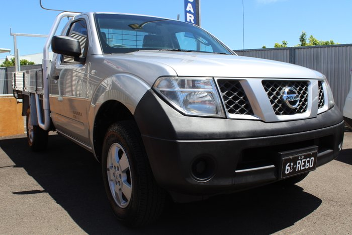 2008 Nissan Navara RX D40 4X4 SILVER OR CHROME