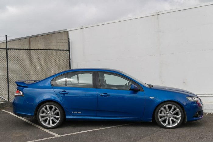 2012 Ford Falcon XR6 FG MkII Blue